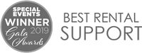 Gala Awards - Best Rental Support